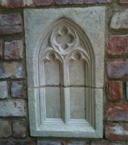 Garden folly single full wall panel